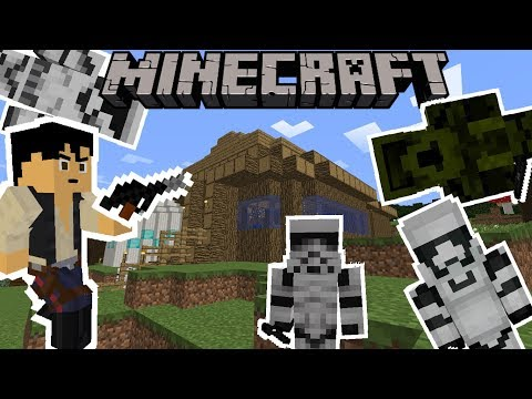 Minecraft: Luke's Star Wars Galaxies (Lightsabers, Blasters and more) Mod Showcase