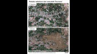 preview picture of video 'Petobo yang tenggelam oleh lumpur dari google earth'