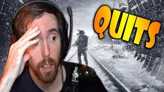 Asmongold Quits Metro Exodus After Not Being Able To Figure It Out