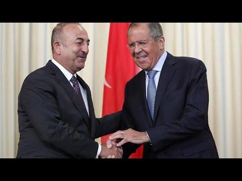 Η Συρία στο επίκεντρο των επαφών Λαβρόφ-Τσαβούσογλου