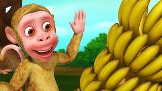 Bandar Mama and Bananas | Bengali Rhymes for Children