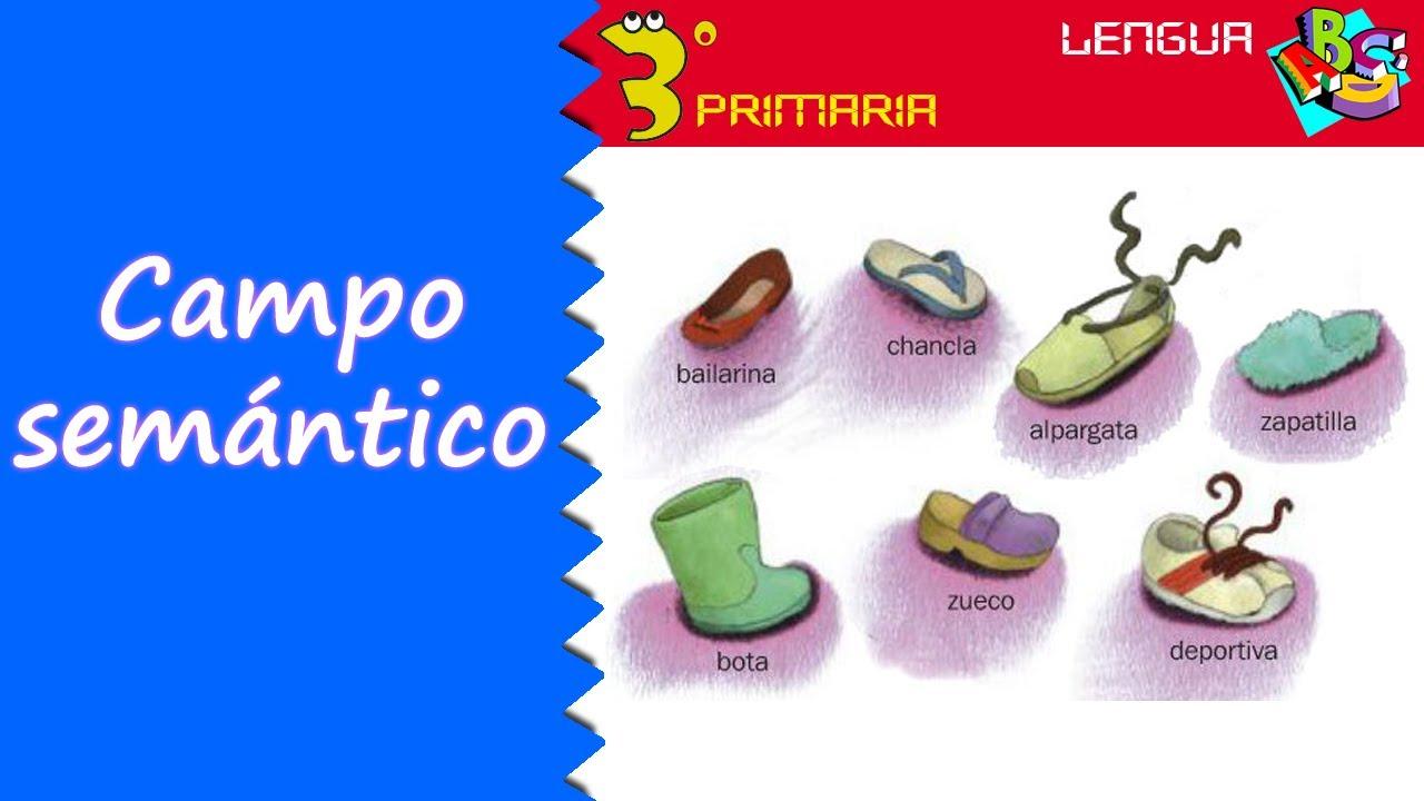 Lengua Castellana. 3º Primaria. Tema 6. El campo semántico