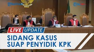 Sidang Kasus Suap, Saksi Sebut Aziz Syamsuddin Bapak Asuh dari Eks Penyidik KPK AKP Stepanus Robinn