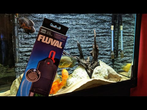 FLUVAL E300 AQUARIUM HEATER – Unboxing Of Digital LCD Display Fish Tank 300 Watt Heater