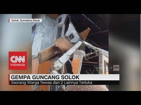 Gempa Bumi 5,5 SR Guncang Padang