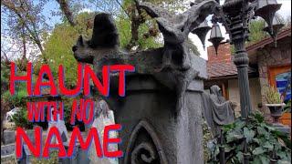 DIY Halloween Props & Decoration Ideas - HAUNT WITH NO NAME! Halloween Display Walkthrough/Tour