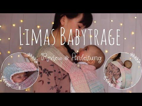 LIMAS Babytrage   Review und Anleitung   Einstellen & Binden