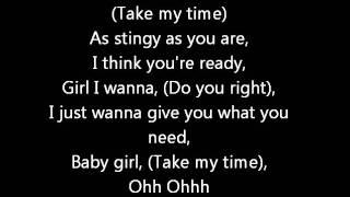 Chris Brown FT Tank- Take my time (Lyrics on screen) karaoke Graffiti