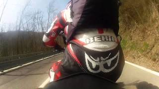 preview picture of video 'Valtrebbia on board - kawasaki Z750 : GoPro'