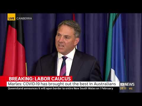 LABOR'S SHADOW MINISTRY RESHUFFLE PRESS CONFERENCE