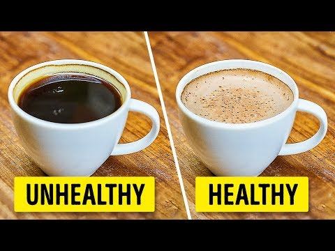 How to drink coffee the right way and healthy