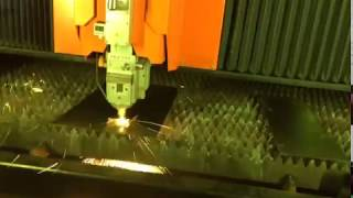 Nukon Fiber Laser cutting with linear motors
