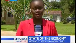 CS Fred Matiangi and  Joseph Kinyua lead the Economic stimulus meeting in Nairobi