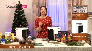 TITAN Wasserkocher 2.0 New Edition 5 Liter dazu GRATIS Riston Tee