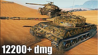 Объект 430У ГРАМОТНЫЙ БОЙ 🌟 12200+ dmg 🌟 World of Tanks лучший бой на ст СССР 10 уровень