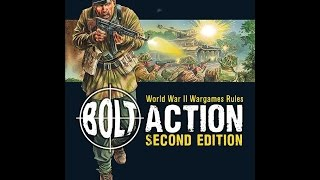 Bolt Action SECOND EDITION Rules overview