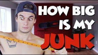 HOW BIG IS MY JUNK?   QNA   Absolutely Blake