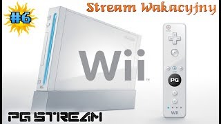 🔴Stream Wakacyjny #6: Wii Party▶️