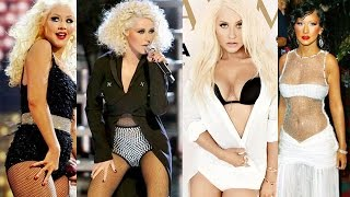 Christina Aguilera's Body Evolution