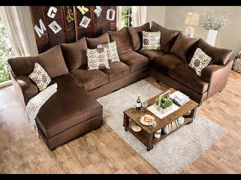 U Shaped Sectional Sofa with Chaise