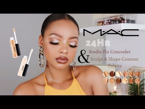 MAC 24Hr Concealer & Sculpting Palette Review | MIHLALI N