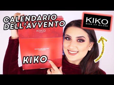 CALENDARIO DELL'AVVENTO KIKO 2018 🎁
