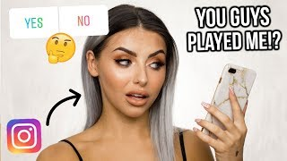 INSTAGRAM CHOOSES MY MAKEUP / FULL FACE OF FIRST IMPRESSIONS!