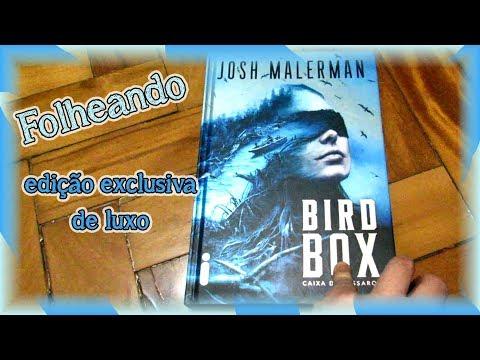 Folheando Bird Box edição de Luxo - Caixa de pássaros | Louca dos livros 2019