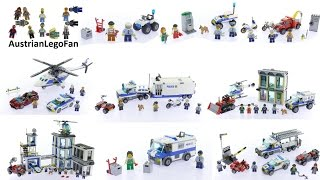 All Lego City Police Sets 2017 - Lego Speed Build Review