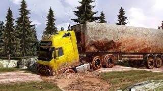 Mud 2.0 - Shortcuts - Dirt - Mod - ETS 2 - Eurotruck Simulator 2 - Грязные Европейские дороги