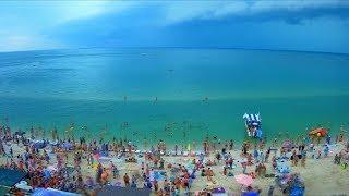 Гроза утром, г.Кирилловка 28 июля 2018 года, time lapse