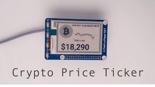 Raspberry Pi Crypto Preis Ticker