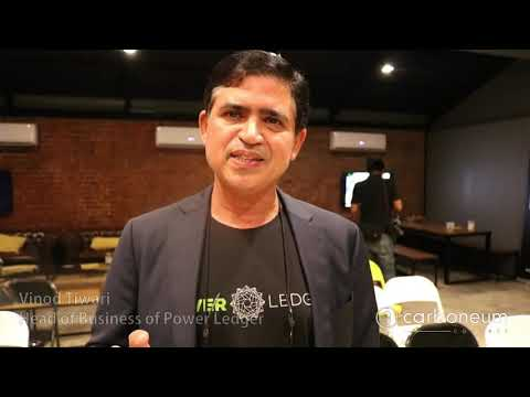 Vinod Tiwari, Head of Business of Power Ledger