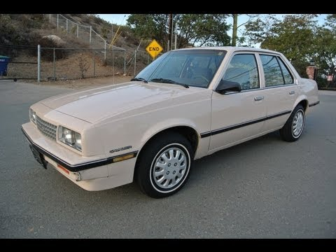 1985 Chevrolet Cavalier 2.0 4 Cyl MPG Car Cheap Wheels For Sale $1995 Youtube Special