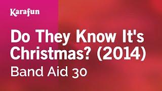 Karaoke Do They Know It's Christmas? (2014)   Band Aid 30 *