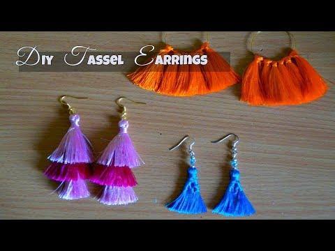 DIY Tassel Earrings | DIY Trendy Jewelry | DIY Fashion Jewelry