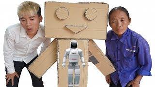 Hưng Vlog - Troll Mẹ Bà Tân Vlog Bằng Trợ Lý Google Chú Robot Thông Minh