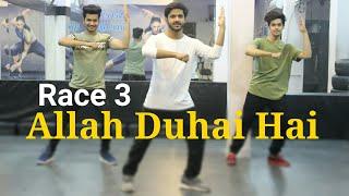 Allah Duhai Hai - Race 3 | Dance Choreography | Vicky Dubey | DXB Dance Studio