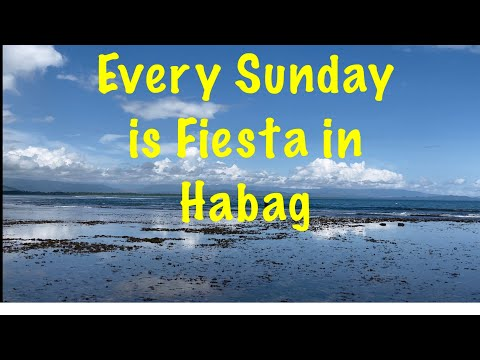 Every Sunday is Fiesta in Habag Philippines