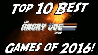 Top 10 BEST Games 2016!