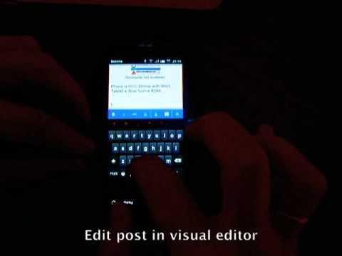Video of BlogPost (Blogger Client)