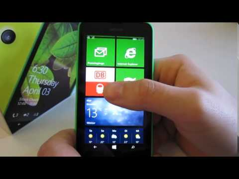 Nokia Lumia 630 Smartphone mit Windows Phone 8.1 | Rezension