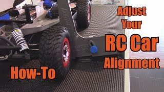 Adjust Your RC Car Alignment - How-To
