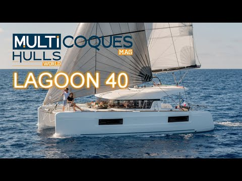 Video: the first images of our test onboard the Lagoon 40 catamaran