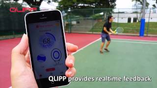 Qlipp Tennis Sensor video