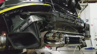Customized 09 Porsche 911 Turbo beautiful exhaust note