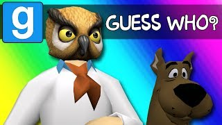 Gmod Guess Who Funny Moments - Scooby-Doo Edition! (Garry