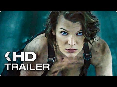 Resident Evil 6: The Final Chapter ALL Trailer (2017)