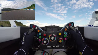 F1 cockpit cam: See the driver at work