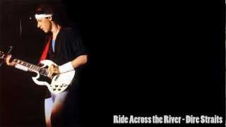 Dire Straits- Ride Across The River (Lyrics on screen)
